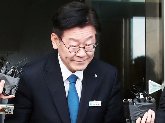 이재명 경기지사 [사진 연합뉴스]