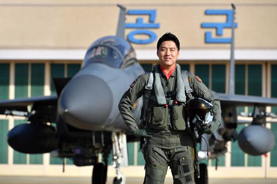 F-15K 조종사 이재수 소령. [사진 공군]