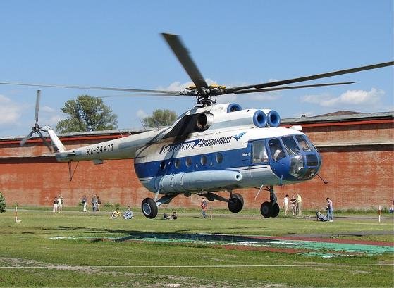북한군도 보유하고 있는 러시아제 수송 헬기 Mi-8. [사진 위키피디어]