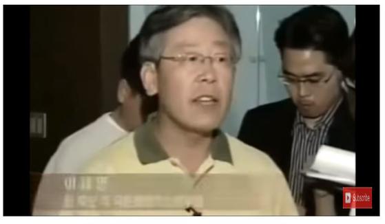 2007년 당내 대선후보 경선 당시 정동영 후보쪽에서 친노와 싸웠던 이재명 지사의 예전 모습. [유튜브 캡처]