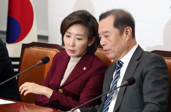 김병준-나경원 인적쇄신 이견 속, 조강특위 전주혜 양보다는 질