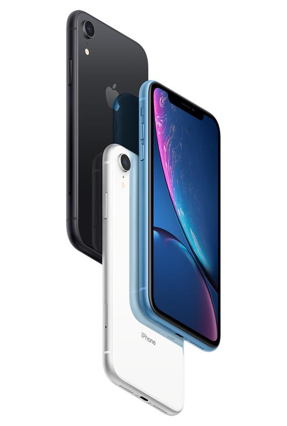 중국 내 판매 금지 대상으로 거론되고 있는 애플의 최신폰인 '아이폰XS', '아이폰XS Max', '아이폰XR'.