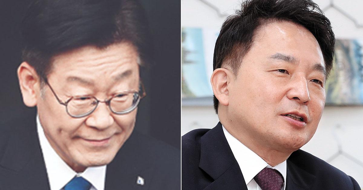 이재명 경기지사(왼쪽)과 원희룡 제주지사(오른쪽) [연합뉴스, 중앙포토]