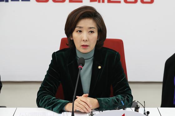 나경원, 한국당 의원들에 오늘밤 김제동 출연 금지령