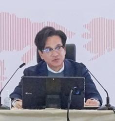 지난 13일 미국 LA서 글로벌 경영전략회의를 주재 중인 이재현 CJ그룹 회장. [사진 CJ]