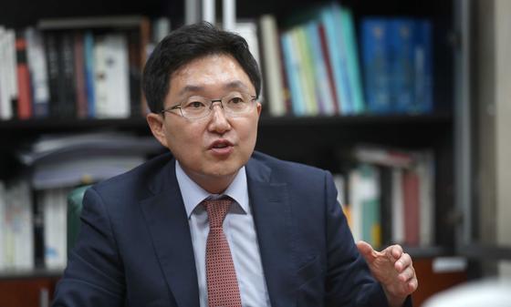자유한국당 김용태 사무총장. [중앙포토]