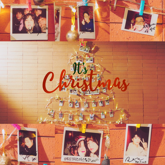 17일 발표되는 FNC의 첫 윈터송 '잇츠 크리스마스'. [사진 FNC엔터테인먼트]