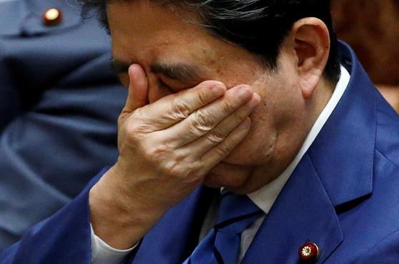 아베 신조 일본 총리.[로이터=연합뉴스]
