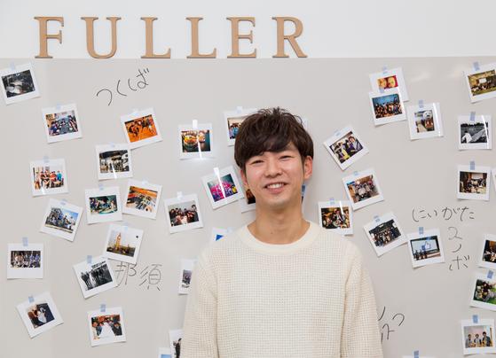 일본 스타트업 '풀러'의 디자이너 김영빈씨.