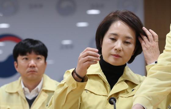 유은혜 수능 후 고3 교실 전수 점검
