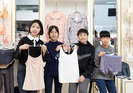 노윤서·이지윤·김동률·최찬이(왼쪽부터) 학생기자.