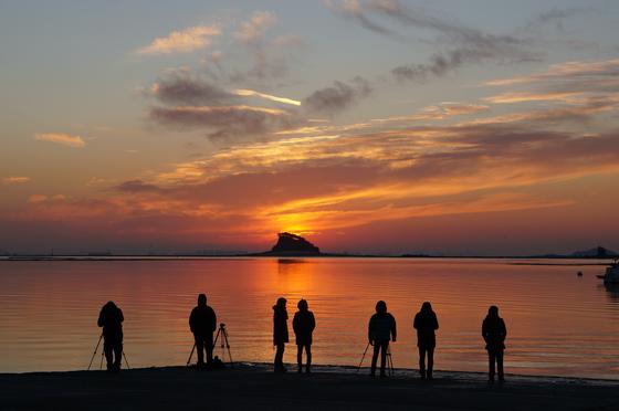 서해에서 일출을 볼 수 있는 포인트, 거잠포구 [사진 인천관광공사]
