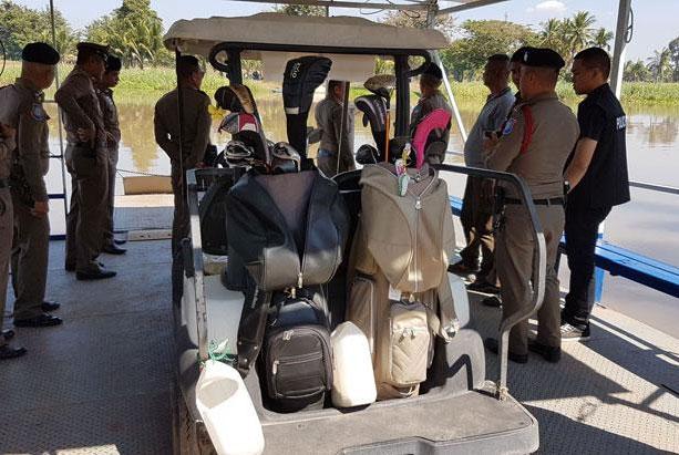 태국 골프장에서 강물에 빠져 실종됐던 한국 남자 관광객 2명이 모두 숨진 채 발견됐다. [연합뉴스]