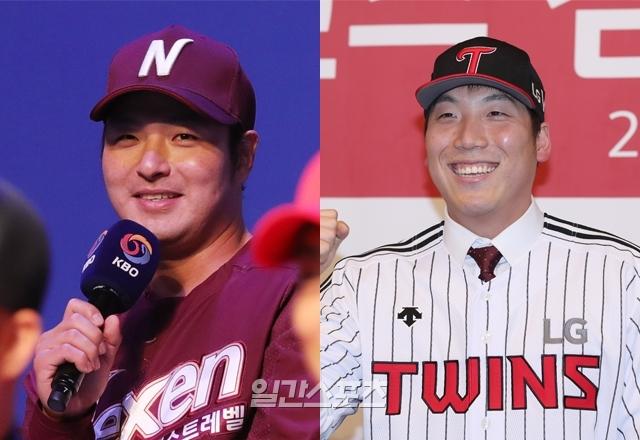 KBO에 복귀한 박병호(왼쪽)와 김현수는 각자 이름값에 걸맞는 활약을 펼쳤다.