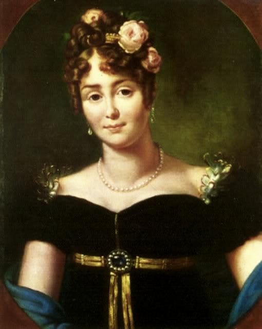 마리아 발레프스카(1812), 프랑수아 제라르(Francois Gerard) 그림, 폴란드 빌라노프의 존 3세 궁전 박물관(John III's Palace Museum at Wilanow) 소장. ⓒ공개도메인 [사진 위키피디아]