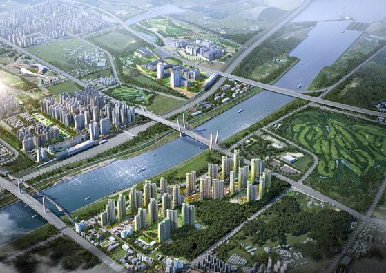 인천 한들구역 개발 가속도...4800여가구 매머드단지 분양