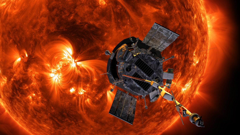 8월 9일 나사는 파커 솔라가 태양에 접근해서 임무를 수행하는 장면이 담긴 그림을 공개했다. 파커 솔라는 11월 태양에서 2710만km까지 근접해 촬영한 사진을 전송했다. [사진 NASA]