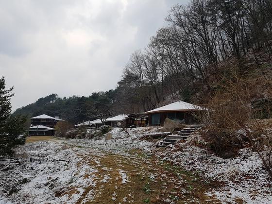 눈이 내렸다. [사진 권대욱]