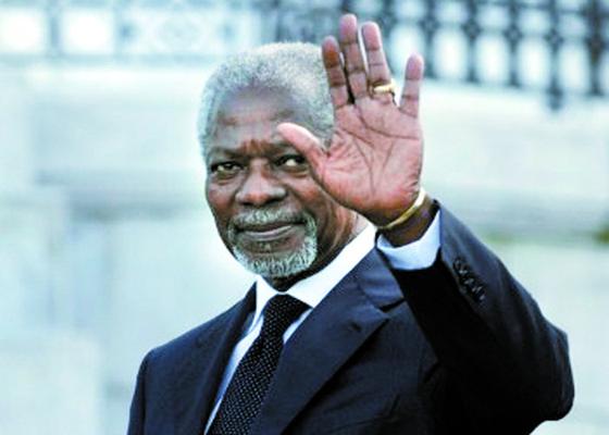 코피 아난(Kofi Atta Annan) 전 유엔 사무총장이 80세의 일기로 8월18일 별세했다. [중앙포토]