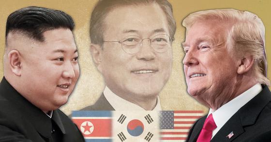 북한 김정은 국무위원장이 북미협상 교착 국면을 타개하기 위해 내년 신년사에 앞서 친서를 보냈을 가능성이 있다는 전망이 나왔다. [연합뉴스]