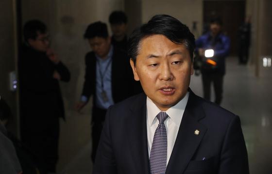 김관영 바른미래당 원내대표. 김경록 기자