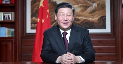 2019년 신년사를 발표하는 시진핑(習近平) 중국 국가 주석. [사진 신화망 캡처]