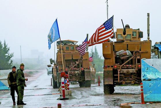[사진] 시리아 미군 철수 시작