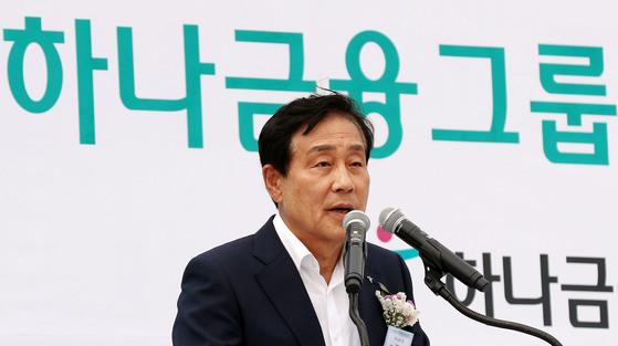 김정태 하나금융그룹 회장 [연합뉴스]
