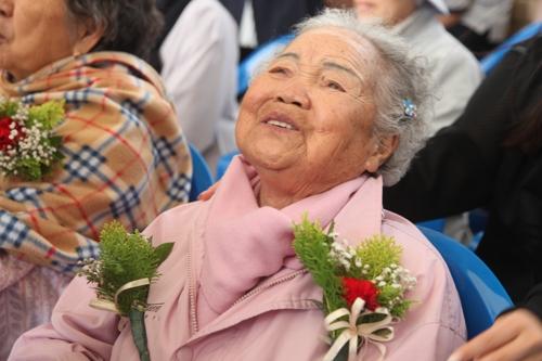 이옥선 할머니. [사진 '나눔의 집']