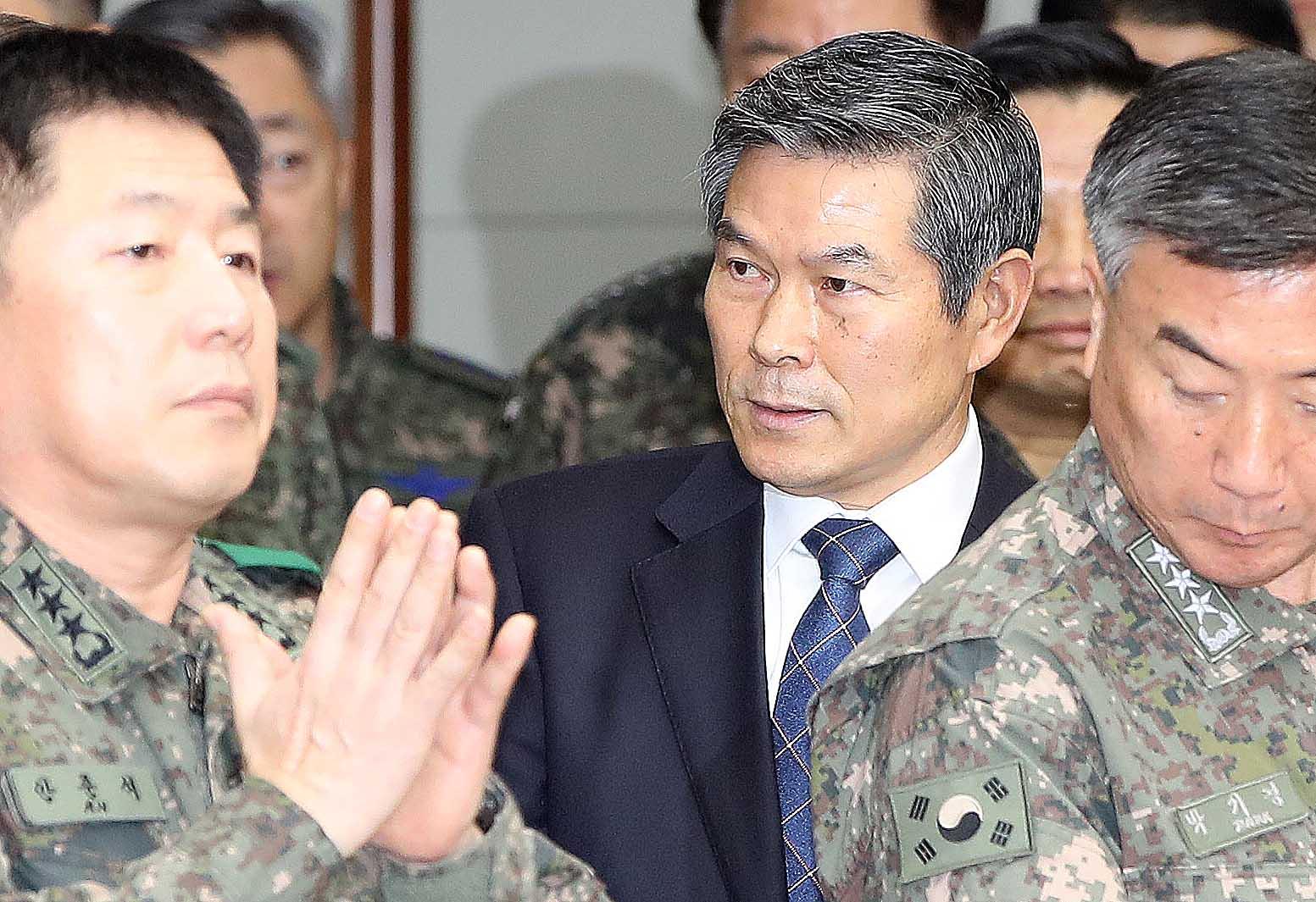 정경두 국방부 장관. 오종택 기자