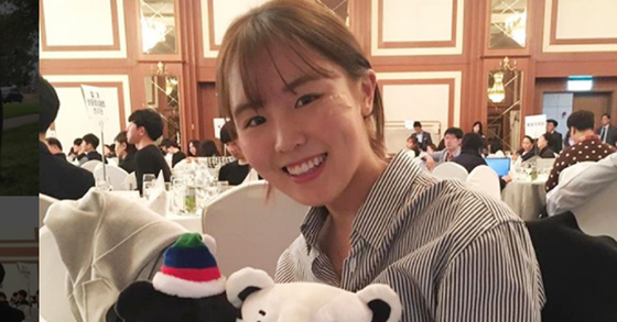 [사진 김아랑 인스타그램]