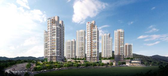 쌍용건설 통합 아파트 브랜드 더 플래티넘, 부평서 첫 분양