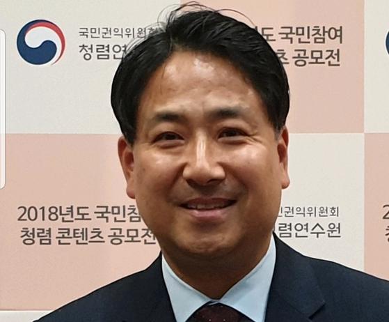 이지문 한국청렴운동본부 이사장.