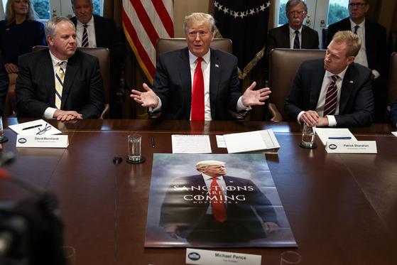 해고왕 트럼프…새해 첫 회의에 대행들만 한가득