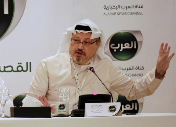 사우디 검찰이 언론인 자말 카슈끄지 살해 피의자 11명중 5명에게 사형을 구형했다. [AP=연합뉴스]