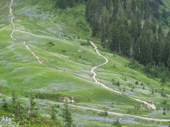 나이 50은 산의 정상에 오른 시기입니다. 지나온 길을 볼 수 있고 또한 내려갈 길도 보이는 나이입니다. 과연 인생 2막에서 필요한 것은 무엇일까요. [사진 백만기]