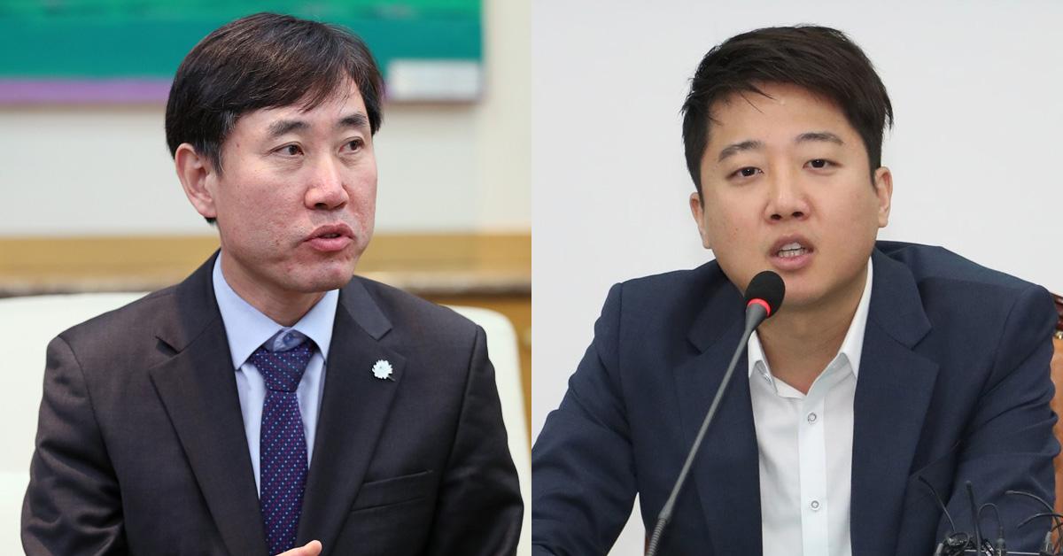 바른미래당 하태경 최고위원과 이준석 최고위원. [연합뉴스]