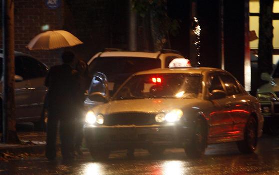 야간 택시 이미지. 사진은 기사와 관련 없음. [중앙포토]