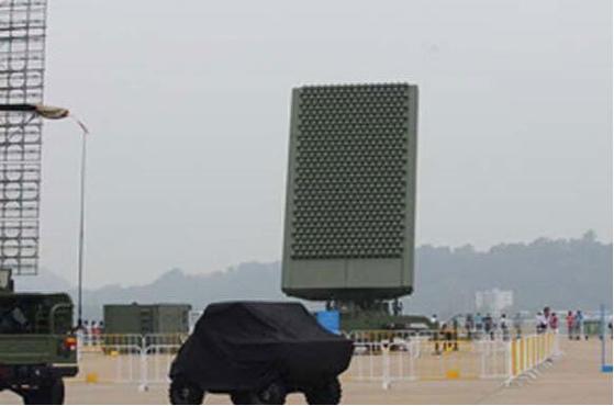 중국의 장거리 레이더 JY-26. [사진 China Arms]
