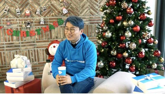 인터뷰 중인 이랑혁 대표의 모습. 이랑혁 대표는 누군가의 저녁이 있는 삶을 도우면 좋겠다는 생각으로 구루미를 창업했다. [사진 전규열]