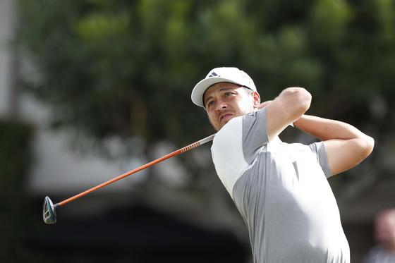 2019년 첫 PGA 투어 대회에서 우승한 잔더 셔펠레. [로이터=연합뉴스]