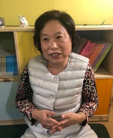 이인옥 원장은 2001년부터 운영하던 사립유치원을 지난 2017년 공영형으로 전환했다. 전민희 기자
