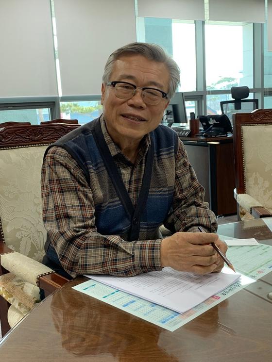 5급 공무원이 된 이동필 전 농림축산식품부 장관. 김윤호 기자