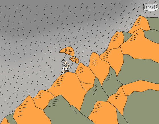 2010년 베이비부머의 본격적인 은퇴가 시작된 이후 수없이 많은 은퇴 설계 해법이 제시됐지만 별다른 성과를 내지 못한 실정이다. [일러스트 강일구]