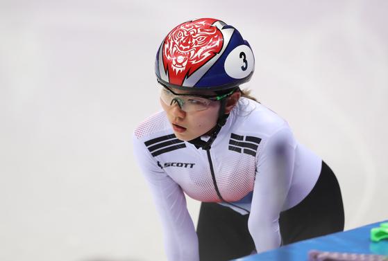 2018 평창올림픽에 출전한 쇼트트랙 국가대표 심석희