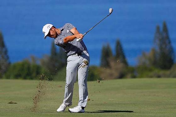 2019년 새해 첫 PGA 투어 대회에서 역전 우승을 차지한 잰더 셰플리. [AFP=연합뉴스]