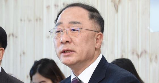 홍남기 경제부총리 겸 기획재정부 장관. [사진 기재부 제공]