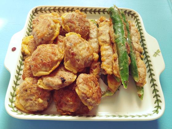 육원전은 부치는 사람이 저절로 집어 먹을 정도로 맛있는 한국의 대표 음식 중 하나다. [사진 민국홍]