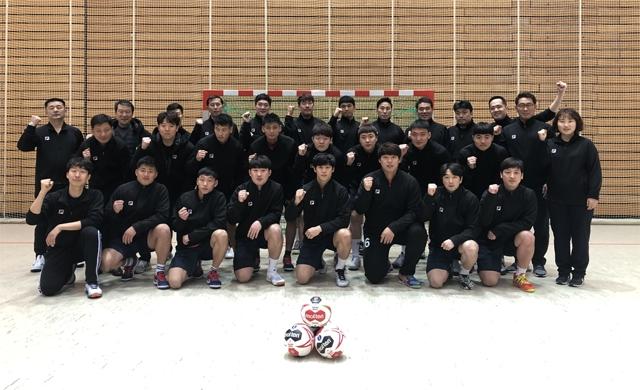 남자 핸드볼 남북 단일팀이 오는 11일 2019 독일·덴마크 세계남자핸드볼선수권에 출전한다. 대한핸드볼협회 제공