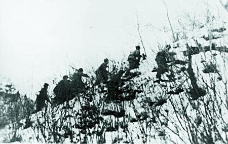 장진호 전투 당시 중공군.[중앙포토]